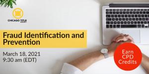 Fraud Identification and Prevention Webinar