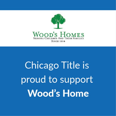 Chicago Title is proud to support Wood's Home