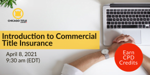 Commercial Title Insurance Webinar