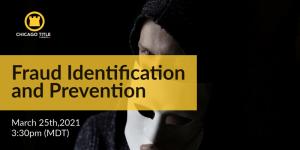 Fraud Presentation webinar March 25
