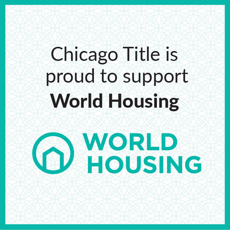 Chicago Title is proud to support World Housing