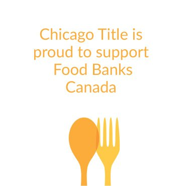 Proud to support Food Banks Canada