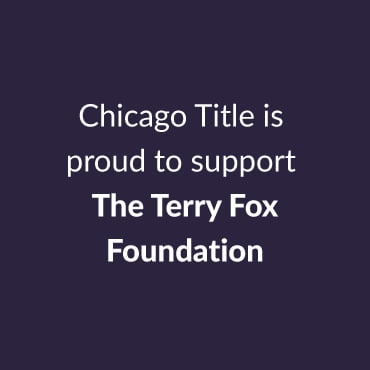 Proud to support Terry Fox Foundation