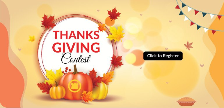 Thanks Giving Contest - Register today!