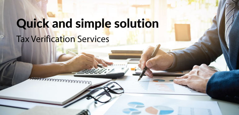 Tax Verification Service