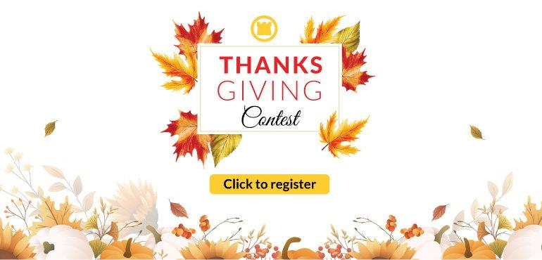Thanksgiving contest 2021